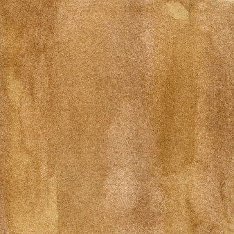 Ilustração em aquarela marrom-clara com manchas e listras desenhadas à mão