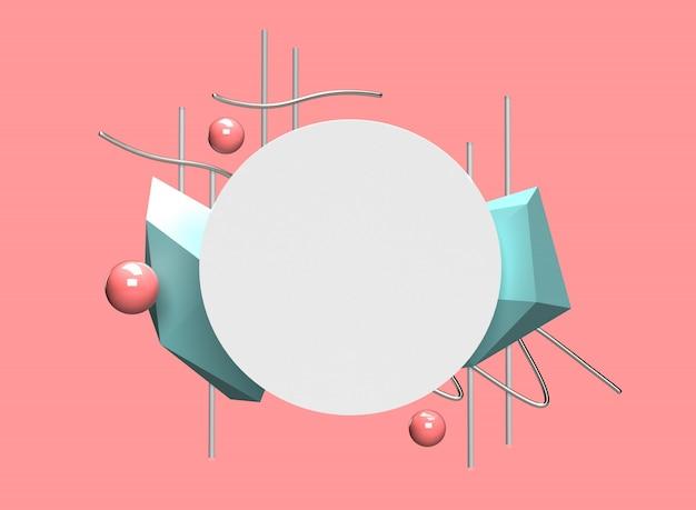 Ilustração renderizada 3d