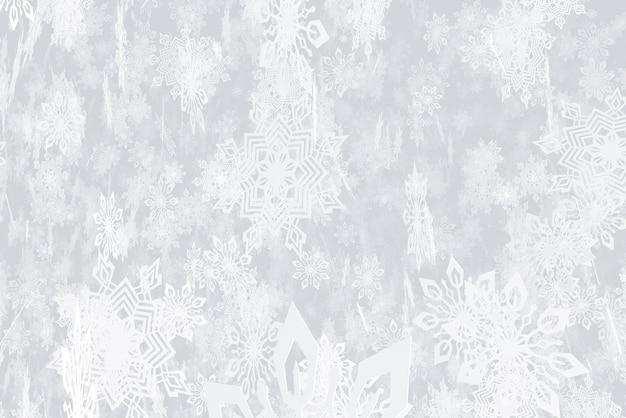 Ilustração sobre o tema da ilustração 3d da queda de neve do ano novo
