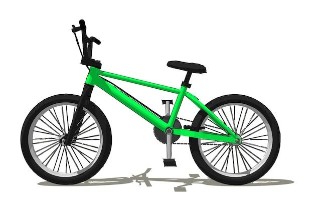 Ilustração vetorial de bicicleta