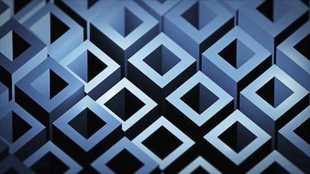 Imagem abstrata de fundo de cubos