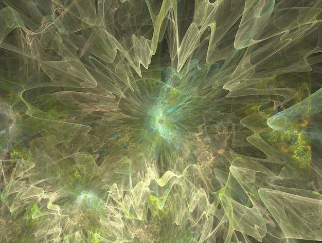 Imagem abstrata imaginativa de fundo fractal