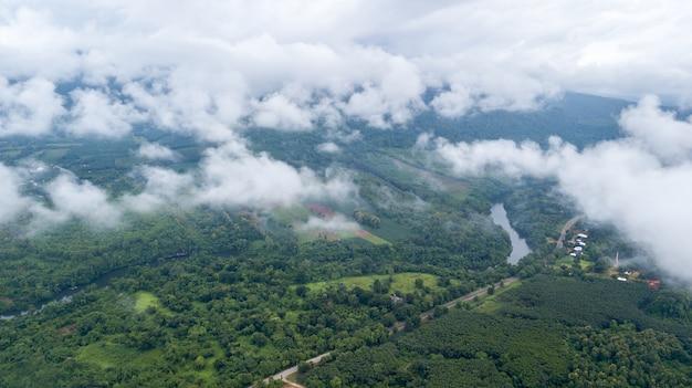 Imagem aérea do zangão