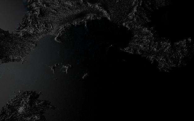 Imagem casual gráfica da superfície da terra sobre o tema da poluição da natureza