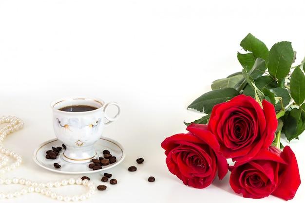 Imagem com rosas vermelhas.