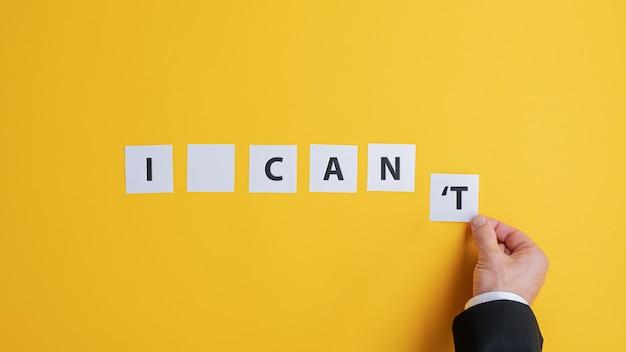Imagem conceitual de determinação e estratégia de negócios