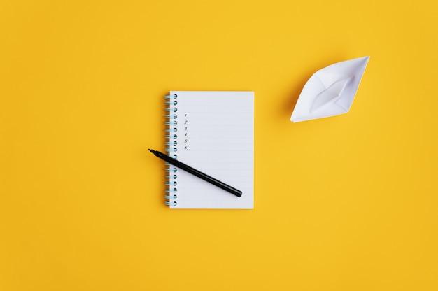 Imagem conceitual de visão e planejamento