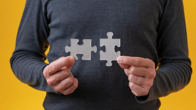 Imagem conceitual de visão, estratégia e plano
