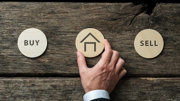 Imagem conceitual do mercado imobiliário