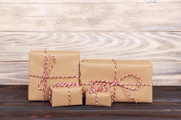 Imagem de caixa de presente artesanal