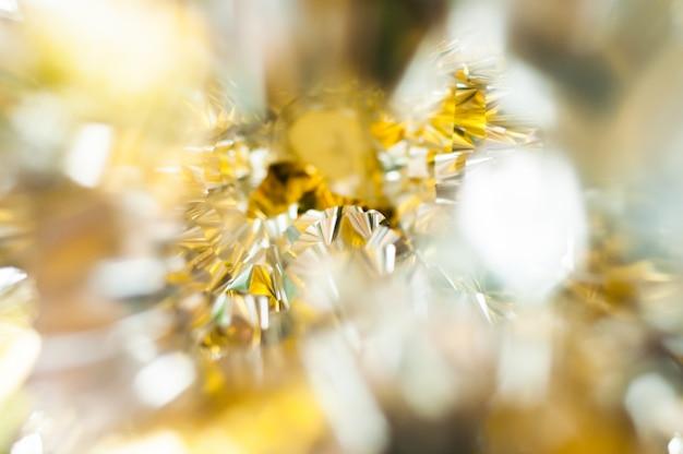 Imagem de fundo abstrato de ouro e prata