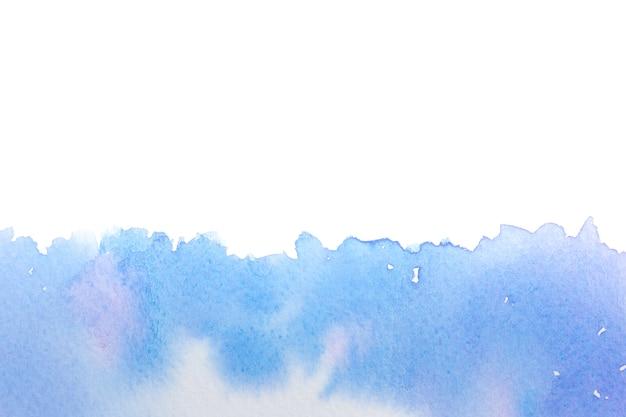 Imagem de fundo abstrato do mar com aquarela