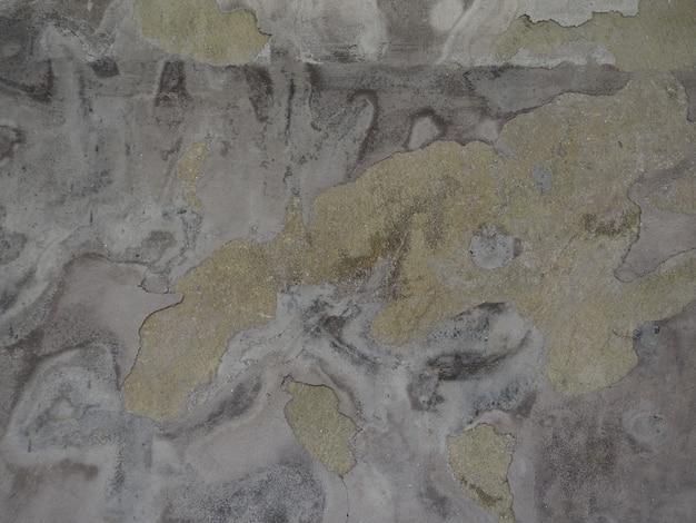 Imagem de fundo da rachadura de gergelim na parede de cimento