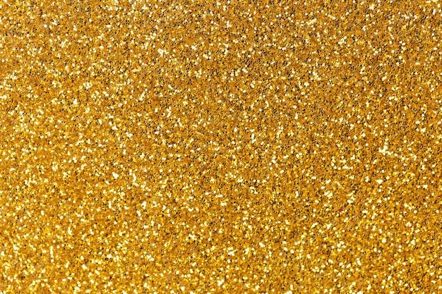 Imagem de fundo de glitter dourado, abstrato cintilante, textura brilhante