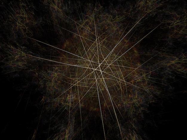 Imagem de fundo fractal imaginativa