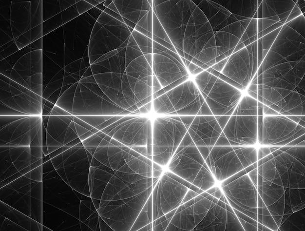 Imagem de fundo imaginativa de fractal