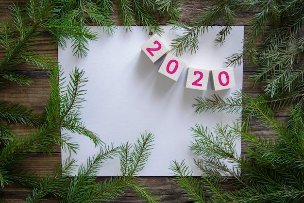 Imagem de natal para o ano novo de 2020