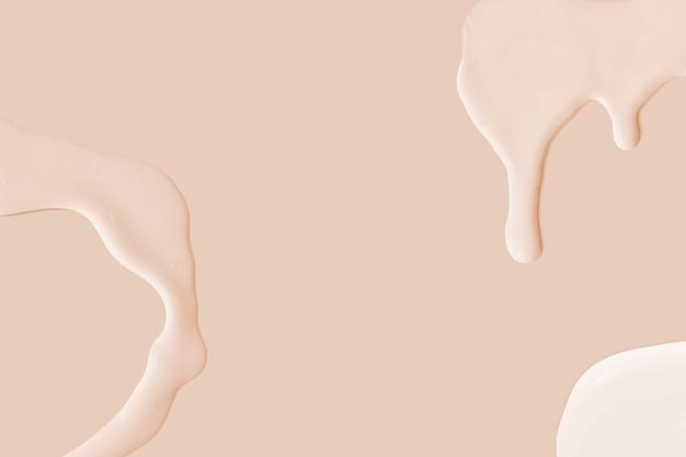 Imagem de papel de parede de fundo rosa bege com pintura acrílica