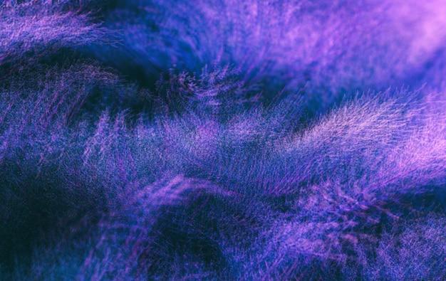 Imagem desfocada abstrata de arbustos de zimbro
