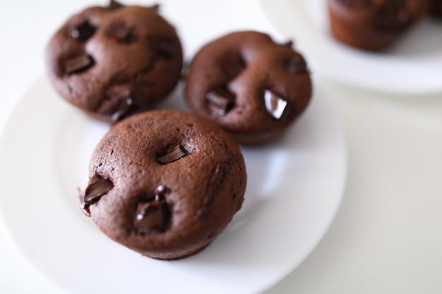 Imagem detalhada de brownies