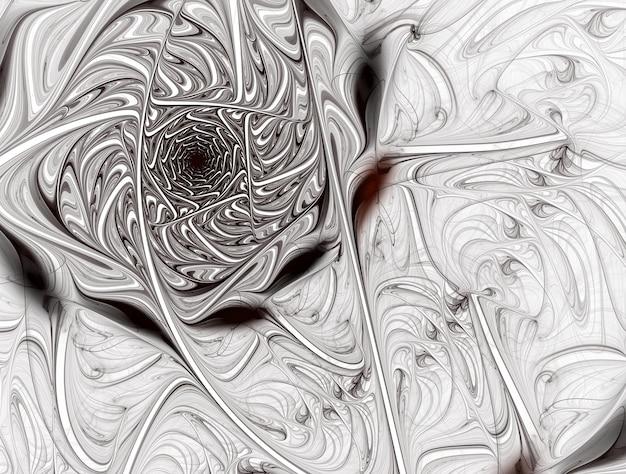Imagem gerada de fundo imaginário fractal