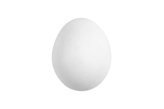 Imagem isolada de ovo branco