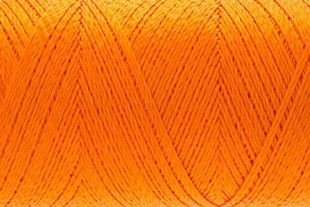 Imagens de macro de textura de fio laranja cor de fundo