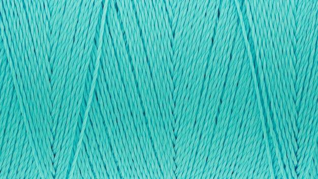 Imagens de macro de textura de fio turquesa cor de fundo