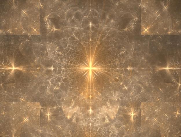 Imaginatória imagem gerada de fundo fractal