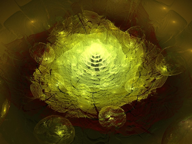 Imaginatório fractal background image