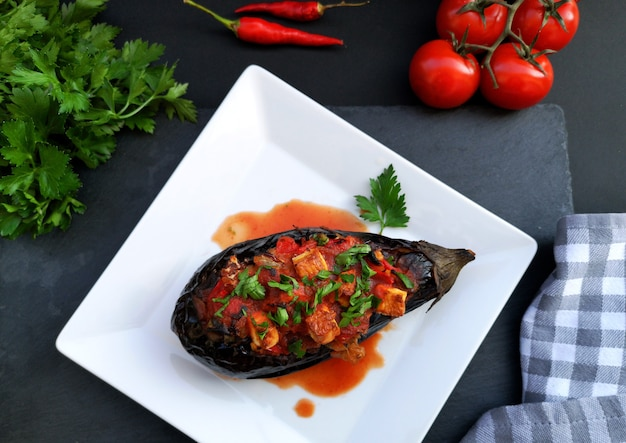 Imam bayildi, comida tradicional turca