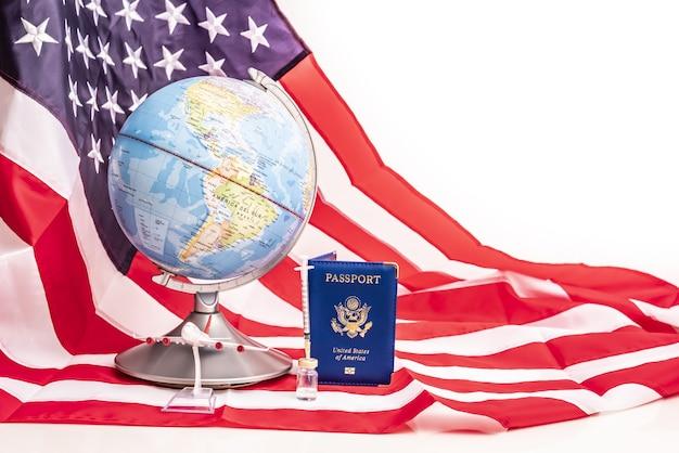 Importância global do passaporte americano para movimentos globais