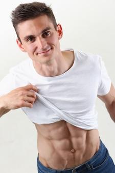 Imprensa masculina forte graças à dieta