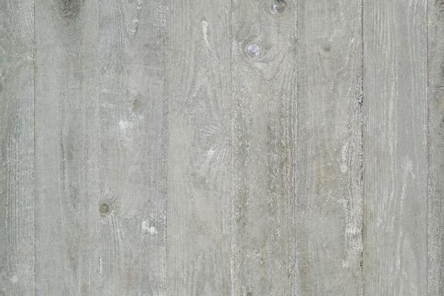 Impressão da textura de uma velha parede de madeira. plano de fundo cinza claro.