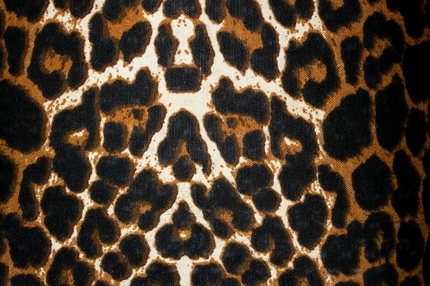 Impressão de animal em textura de pele de tela ou fundo