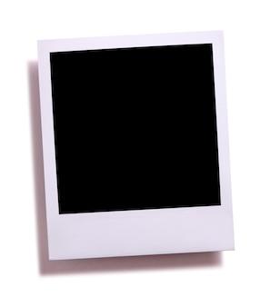 Impressão instantânea em branco da câmera instantânea