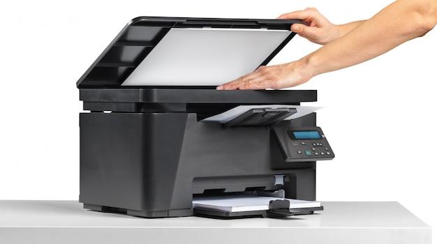 Impressora de mesa de escritório
