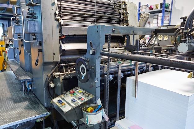 Impressora rotativa de máquina de tinta de impressora