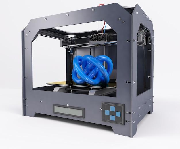 Imprimindo uma forma abstrata