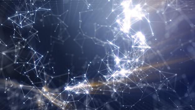 In digital network papel de parede em rede digital.