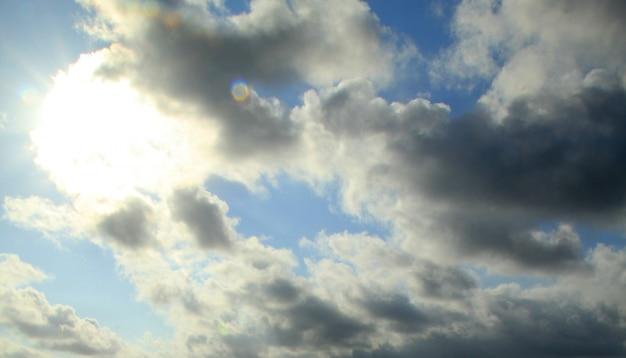 Incrível nuvem escura