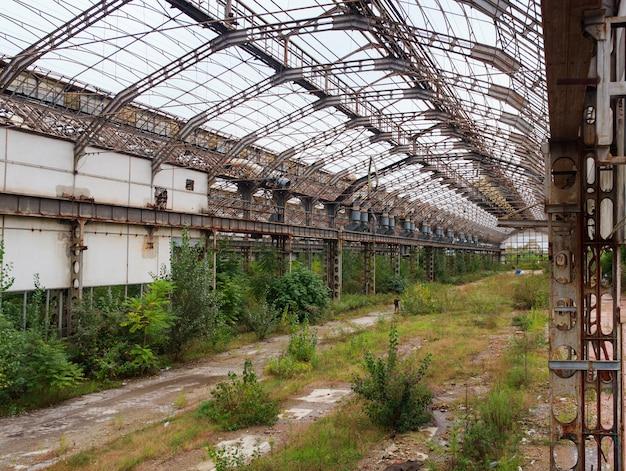 Indústria abandonada