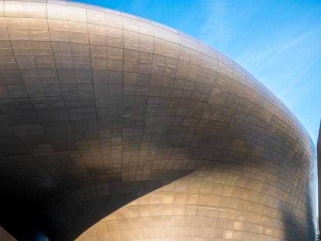 Indústria de design de arquitetura com forma de curva enterior moderna.