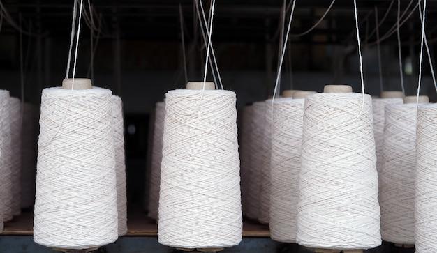 Indústria de fios têxteis.