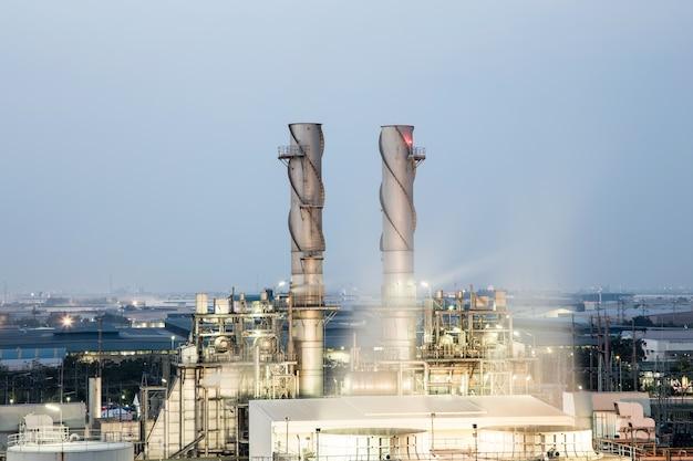 Indústria de petróleo e gás em poderosos
