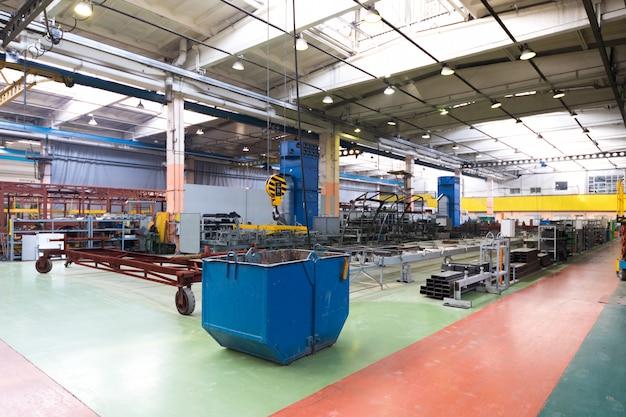 Indústria de produção de ônibus