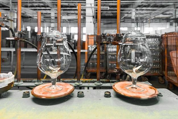 Indústria de taças de vidro