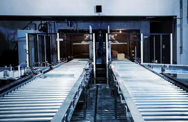 Indústria de transporte de rolos boa indústria de produtos