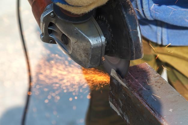 Indústria pesada de aço de corte por flex elétrico