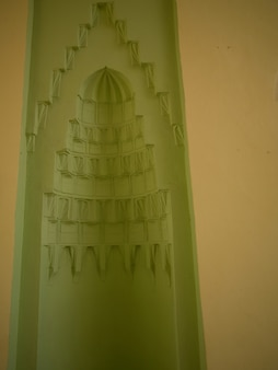 Inerior parede em kusadasi turquia